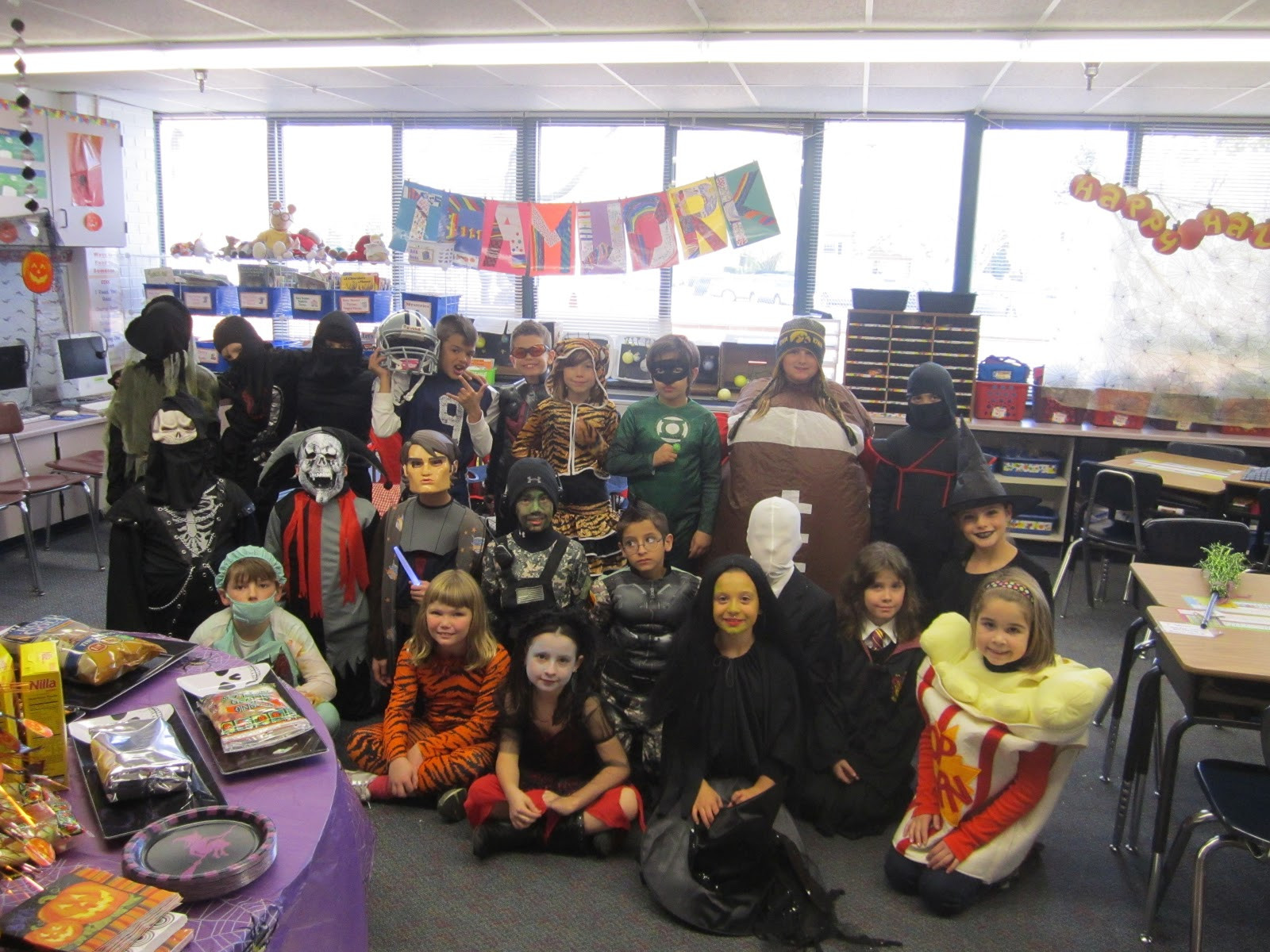 Third Grade Halloween Party Ideas  Halloween Parties For 3rd Graders halloween game for