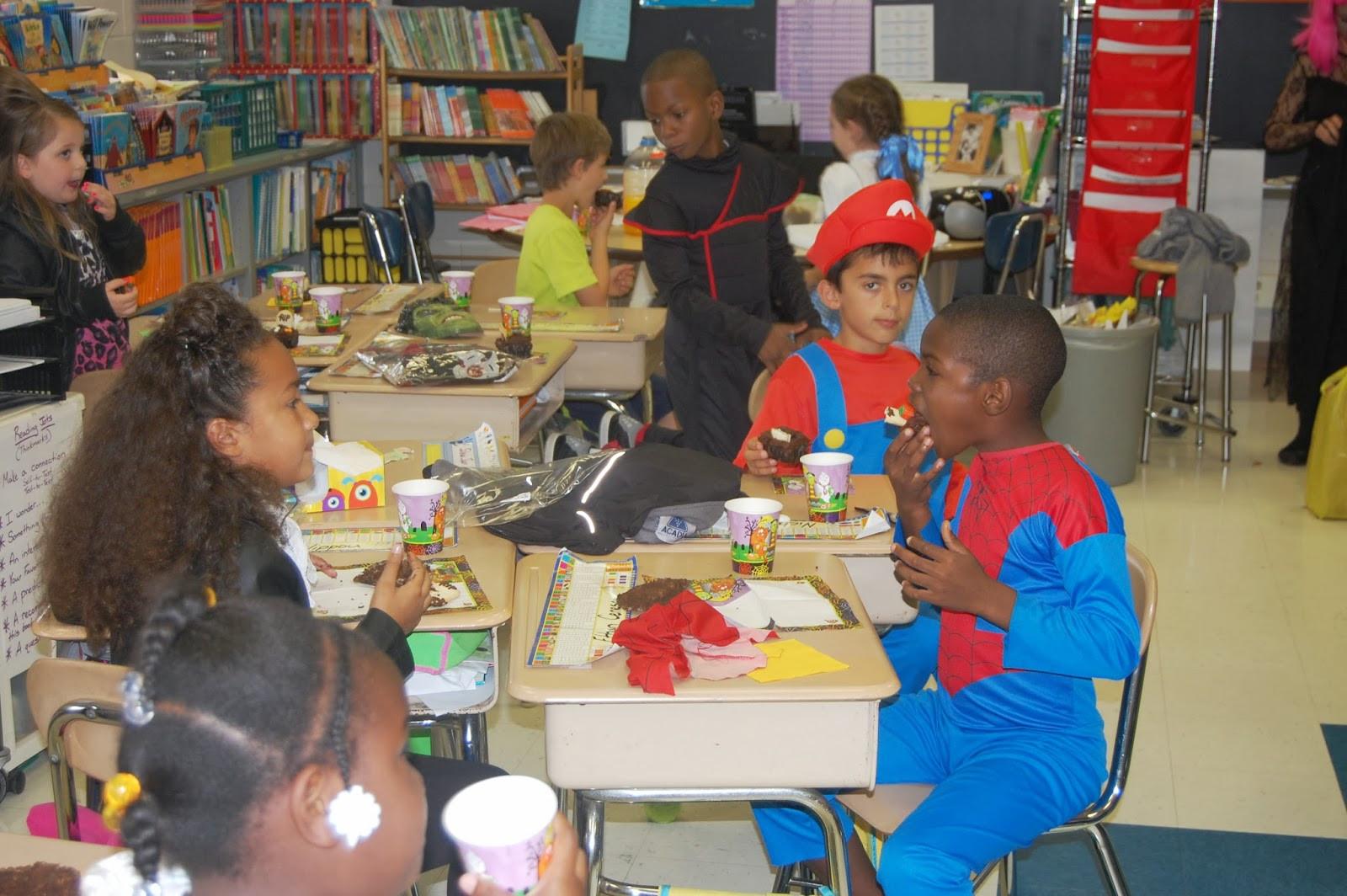 Third Grade Halloween Party Ideas  Mr Cavileer s 2nd Grade Blog Halloween Party