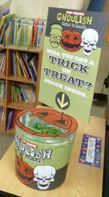 Third Grade Halloween Party Ideas  Project Denneler October 2010