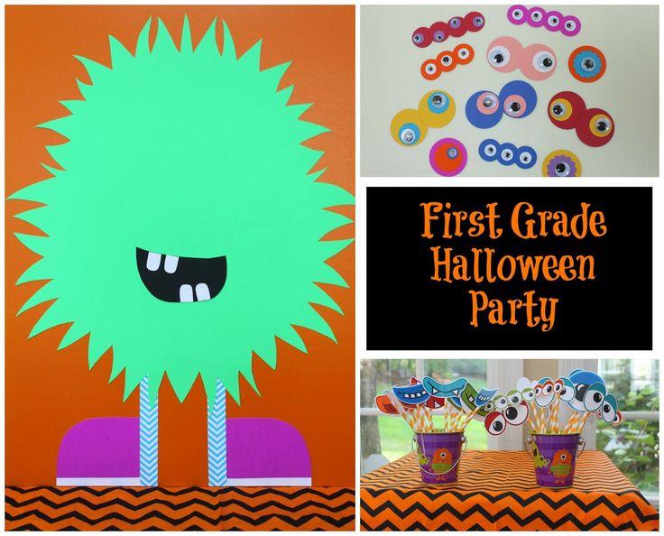 Third Grade Halloween Party Ideas  117 best K 1st 2nd Grade Halloween Party images on