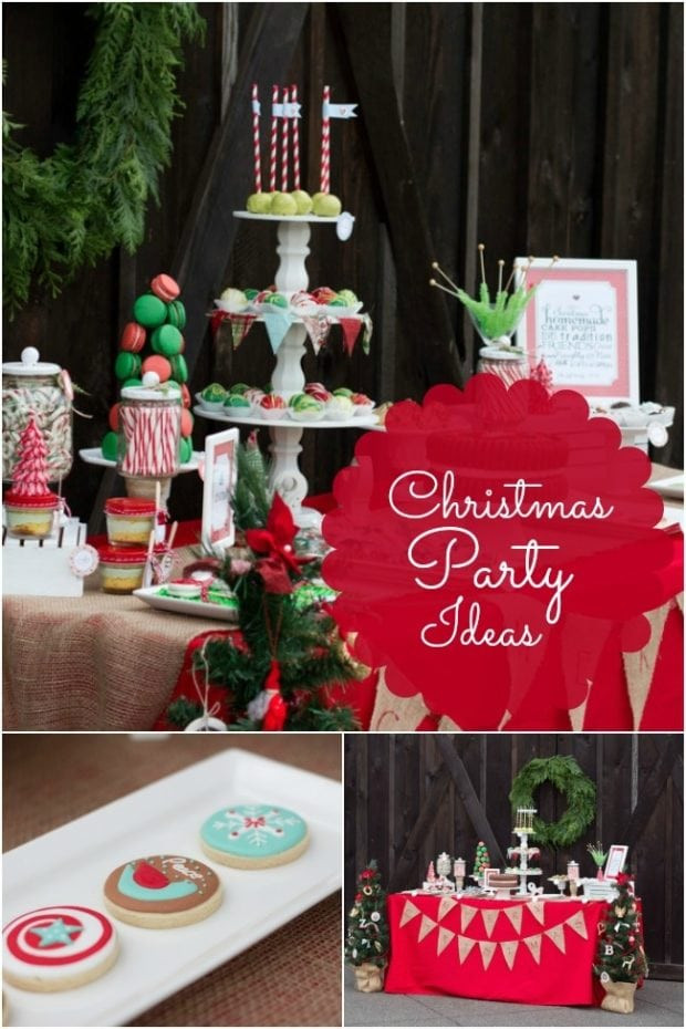 Toddler Christmas Party Ideas  Kids Christmas Birthday Party Ideas