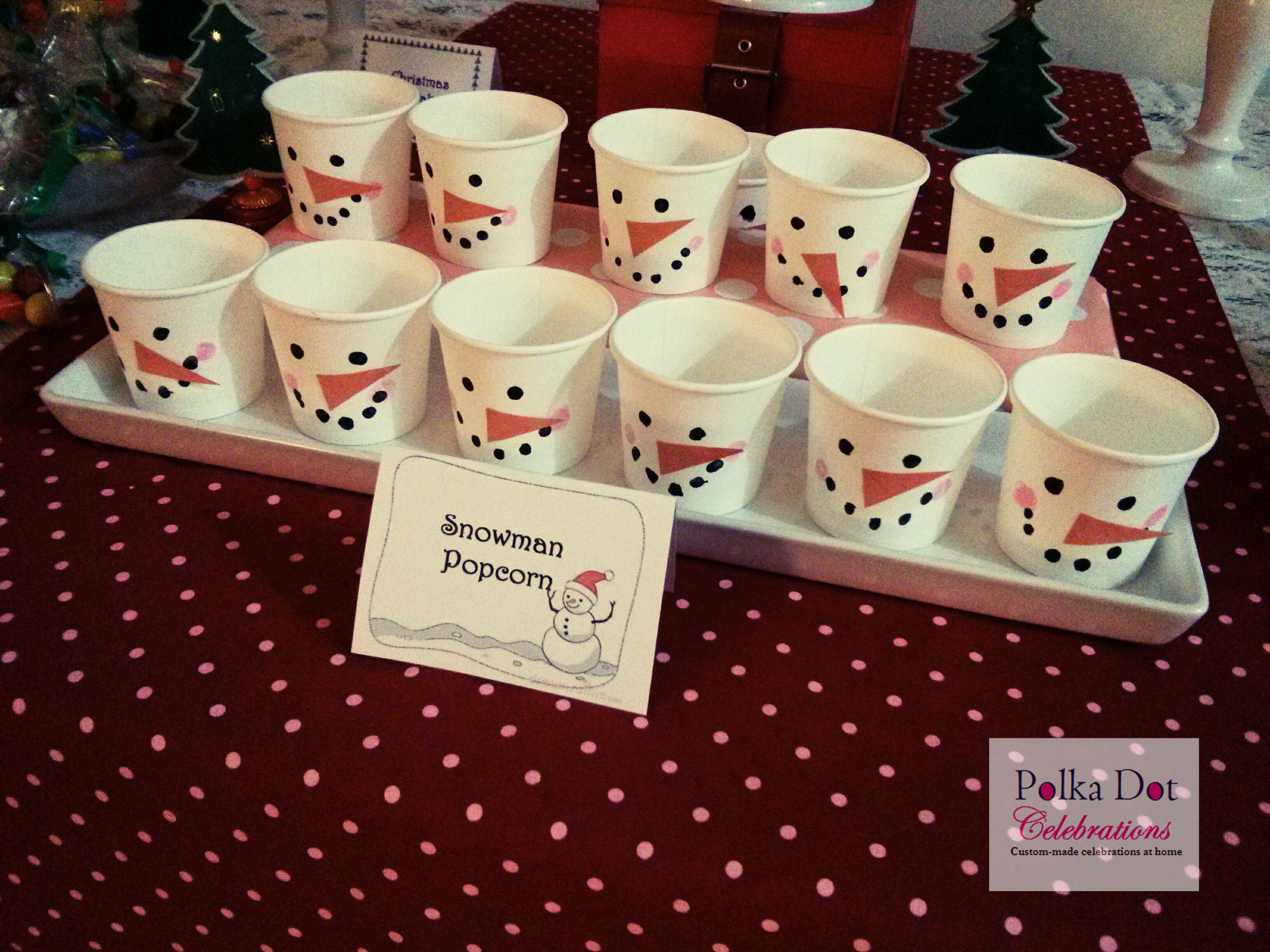 Toddler Christmas Party Ideas  Christmas Party Ideas for Kids Party Polka Dot Celebrations