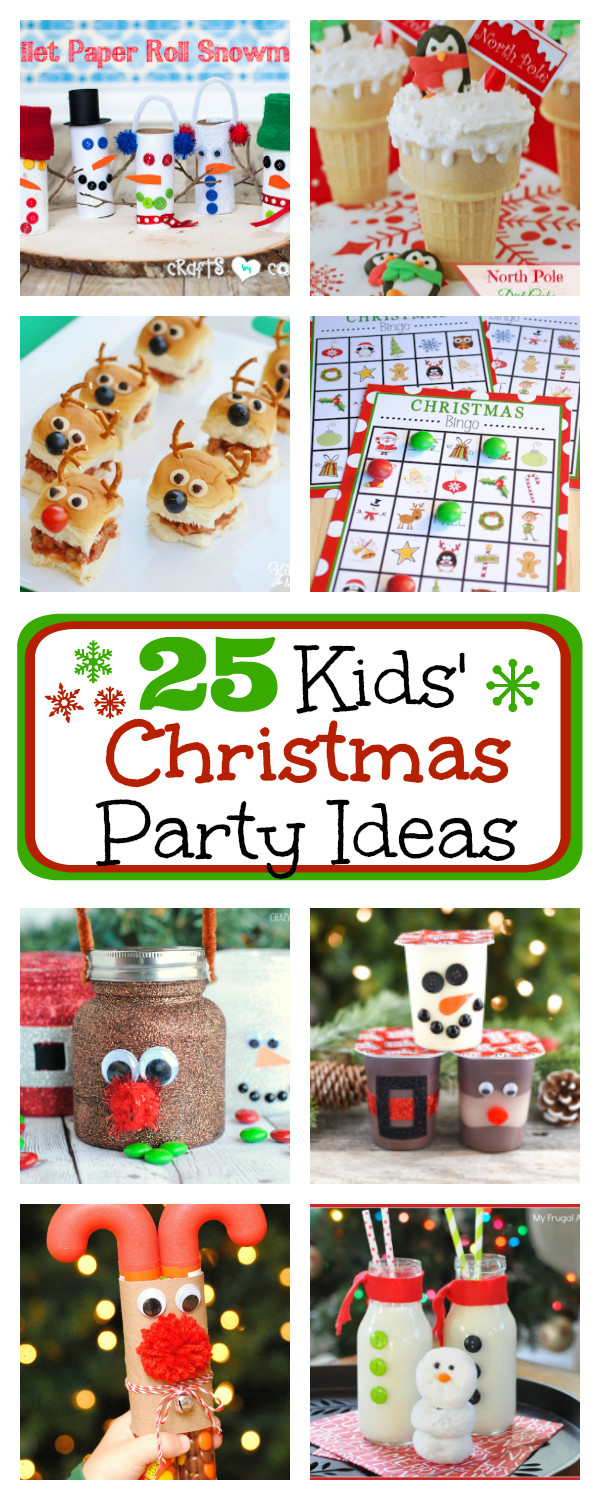 Toddler Christmas Party Ideas  25 Kids Christmas Party Ideas – Fun Squared