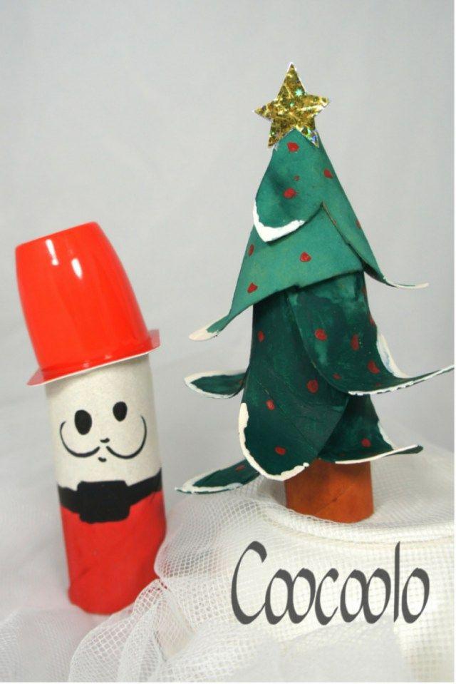 Toilet Paper Christmas Crafts  25 unique Toilet paper trees ideas on Pinterest