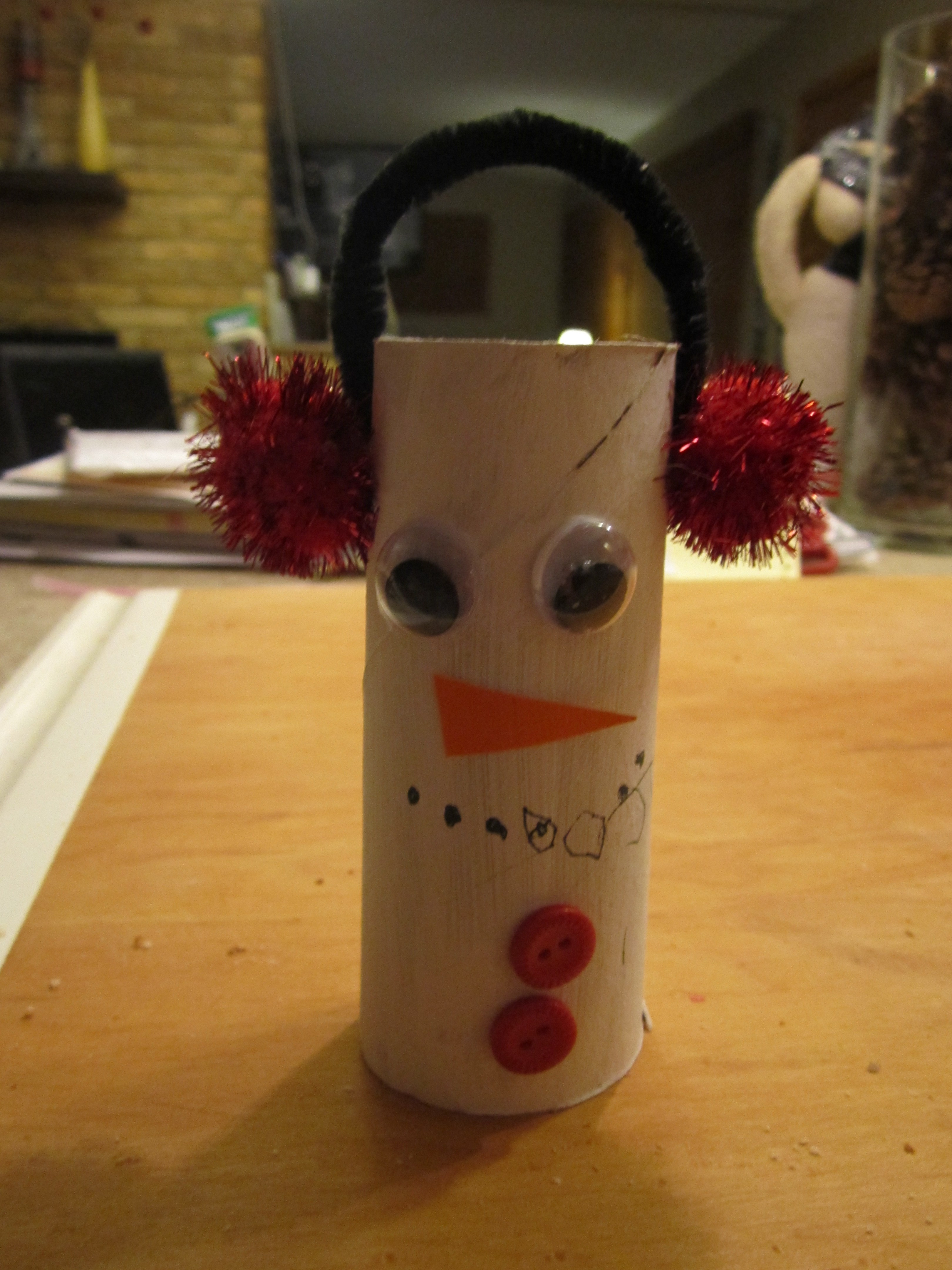 Toilet Paper Christmas Crafts  winter