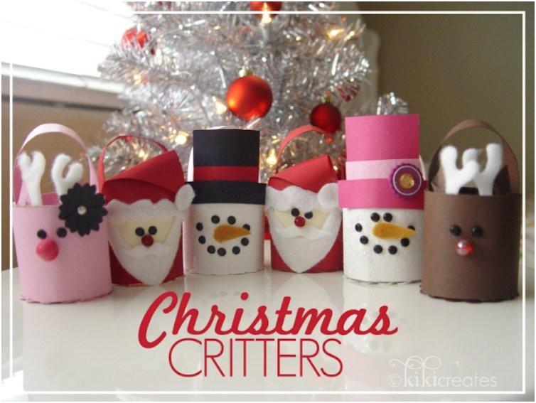 Toilet Paper Christmas Crafts  20 Festive DIY Christmas Crafts From Toilet Paper Rolls