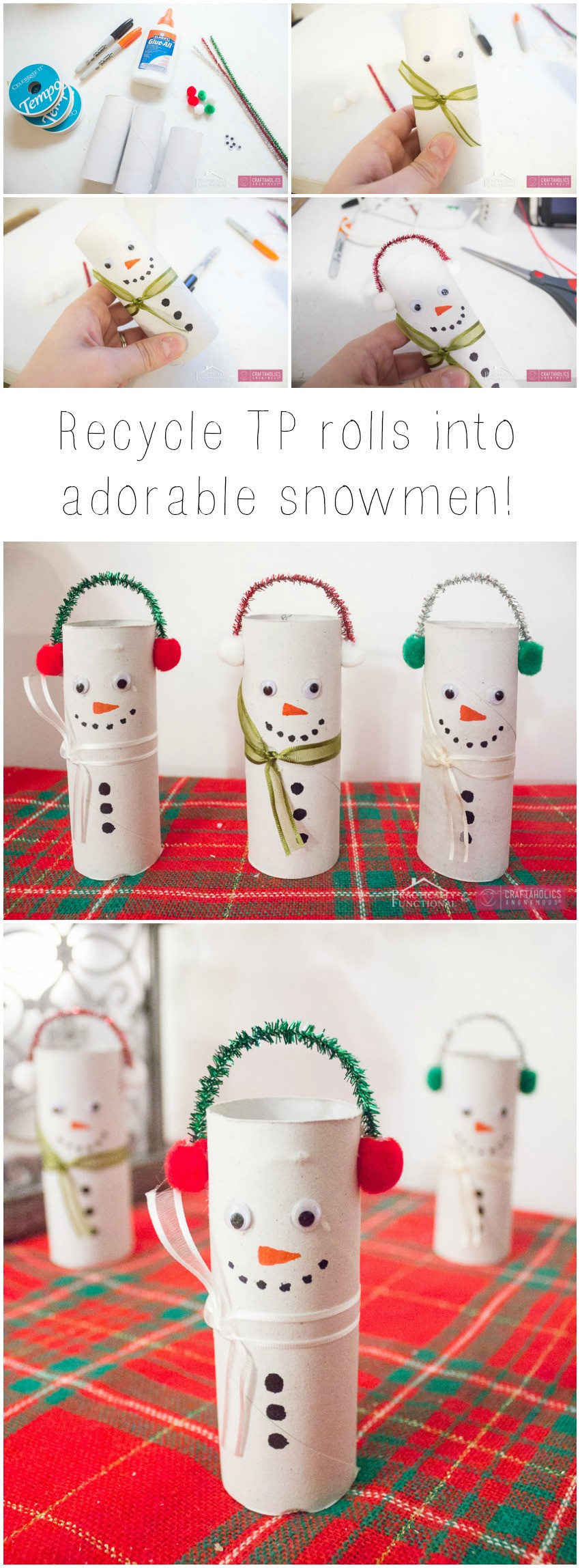 Toilet Paper Christmas Crafts  Craftaholics Anonymous