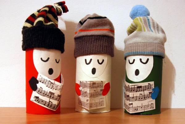 Toilet Paper Christmas Crafts  150 Homemade Toilet Paper Roll Crafts Hative