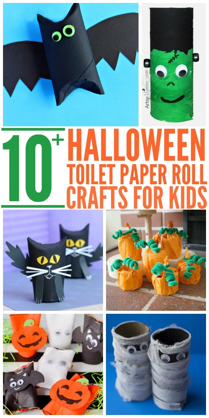 Toilet Paper Roll Crafts Halloween  10 Easy Halloween Toilet Paper Roll Crafts Glue Sticks