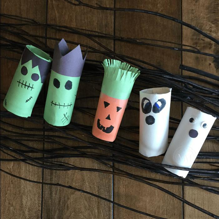 Toilet Paper Roll Crafts Halloween  HALLOWEEN TOILET PAPER ROLL CRAFT Mommy Moment