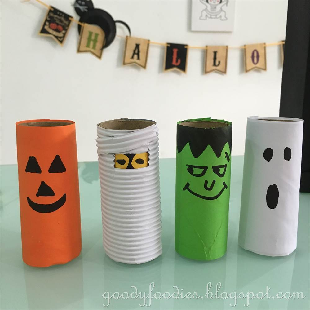 Toilet Paper Roll Crafts Halloween  GoodyFoo s 5 Fun Halloween Crafts To Do with Your Kids