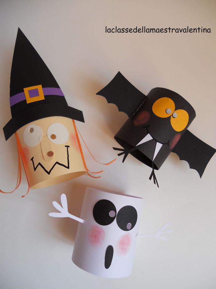 Toilet Paper Roll Crafts Halloween  Halloween decorations out of toilet paper rolls