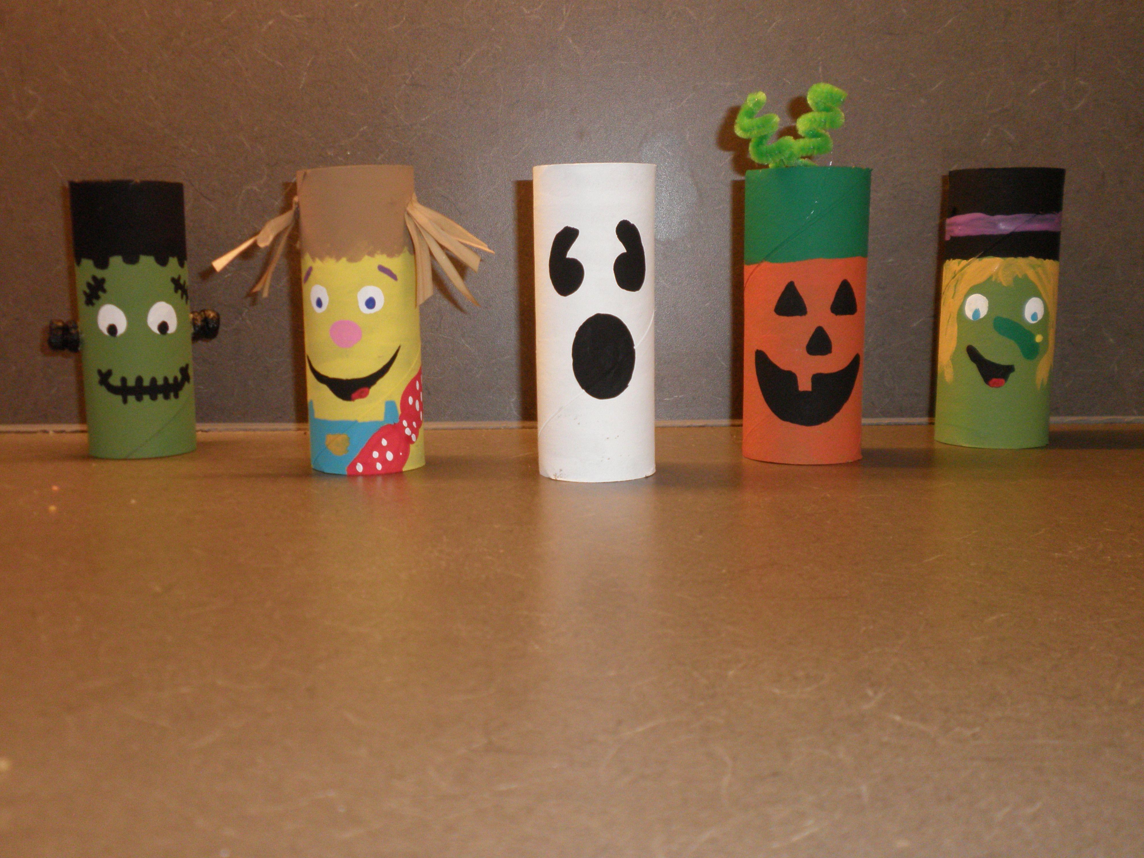 Toilet Paper Roll Crafts Halloween  Toilet Paper Roll Halloween Creations
