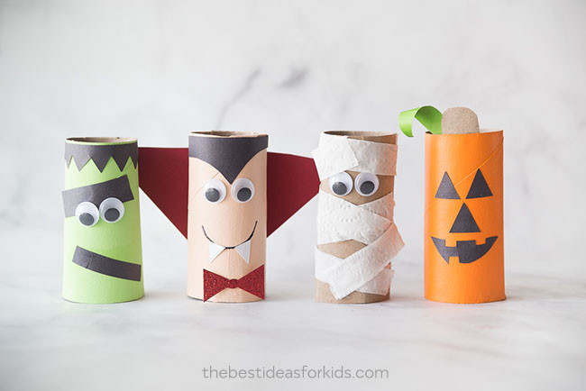 Toilet Paper Roll Halloween Craft  Halloween Toilet Paper Roll Crafts The Best Ideas for Kids