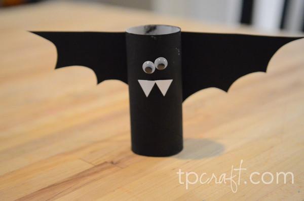 Toilet Paper Roll Halloween Eyes  TPcraft Toilet Paper Roll Bat