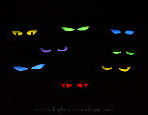 Toilet Paper Roll Halloween Eyes  Spooky Eyes Finding Time To Create