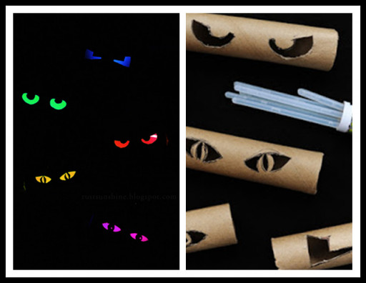 Toilet Paper Roll Halloween Eyes  10 Wonderful Toilet Paper Roll Crafts To Do With Kids