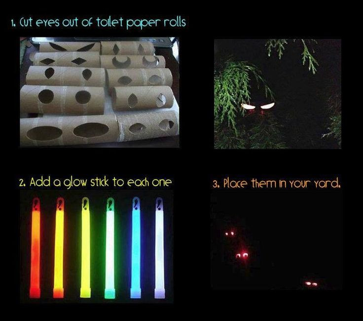 Toilet Paper Roll Halloween Eyes  7 Pranks To Pull Your Roommate