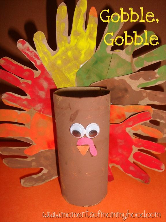 Toilet Paper Roll Thanksgiving Crafts  Toilet Paper Roll Turkey