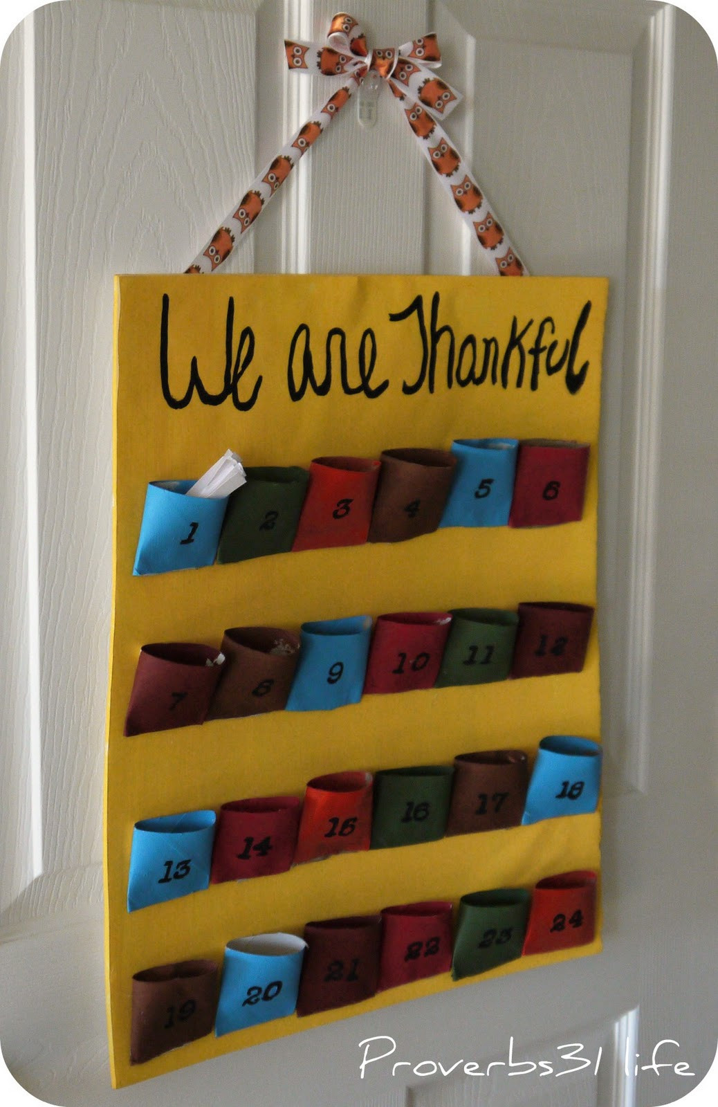 Toilet Paper Roll Thanksgiving Crafts  Proverbs 31 Life Thankful for Toilet Paper