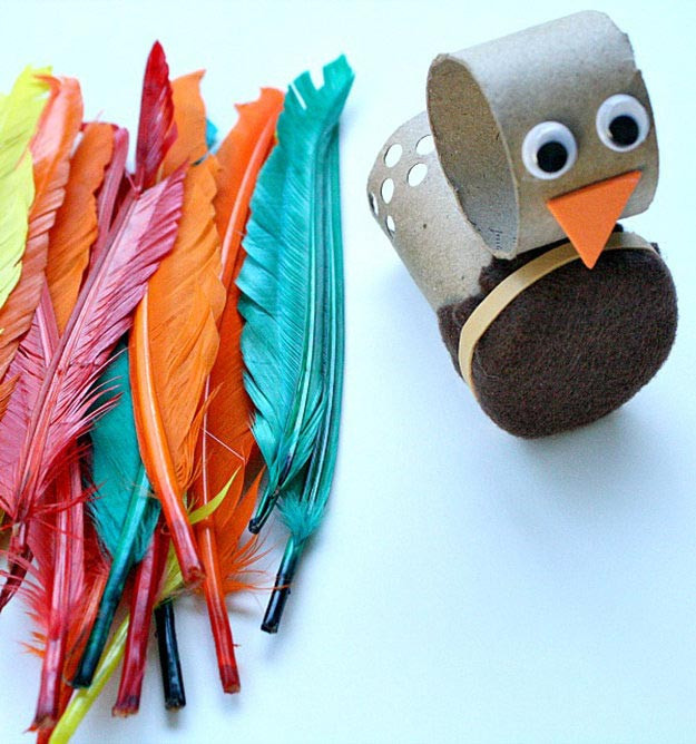 Toilet Paper Roll Thanksgiving Crafts  15 Toilet Paper Roll Crafts For Kids DIY Ready
