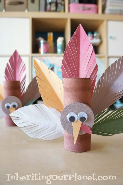 Toilet Paper Roll Thanksgiving Crafts  25 Easy Thanksgiving Crafts for Kids SoCal Field Trips