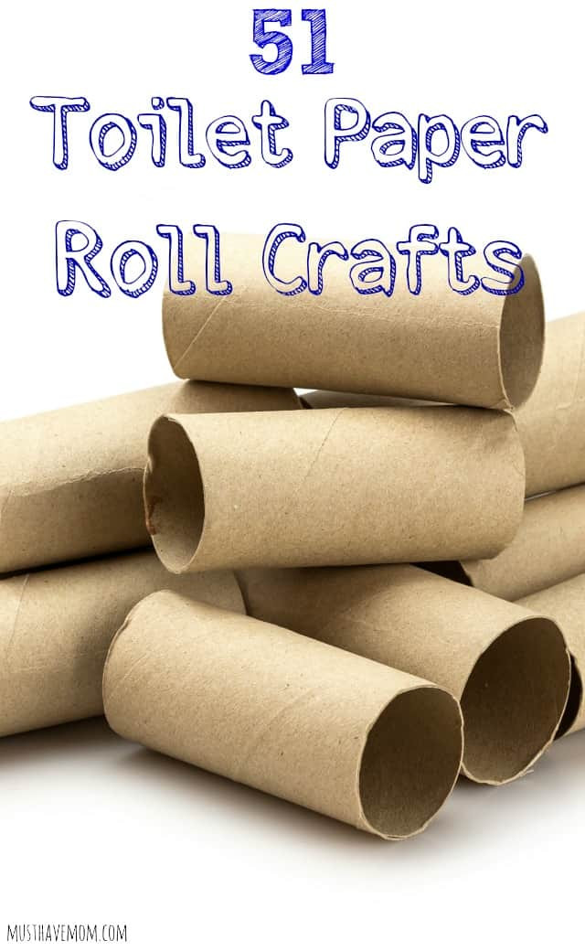 Toilet Paper Tube Christmas Crafts  51 Toilet Paper Roll Crafts $25 Walmart Gift Card Giveaway