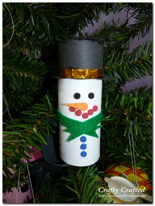 Toilet Paper Tube Christmas Crafts  56 Amazing Paper Roll Crafts Ideas
