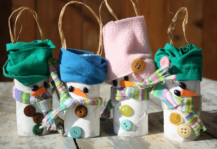 Toilet Paper Tube Christmas Crafts  56 best images about Toilet paper tubes on Pinterest