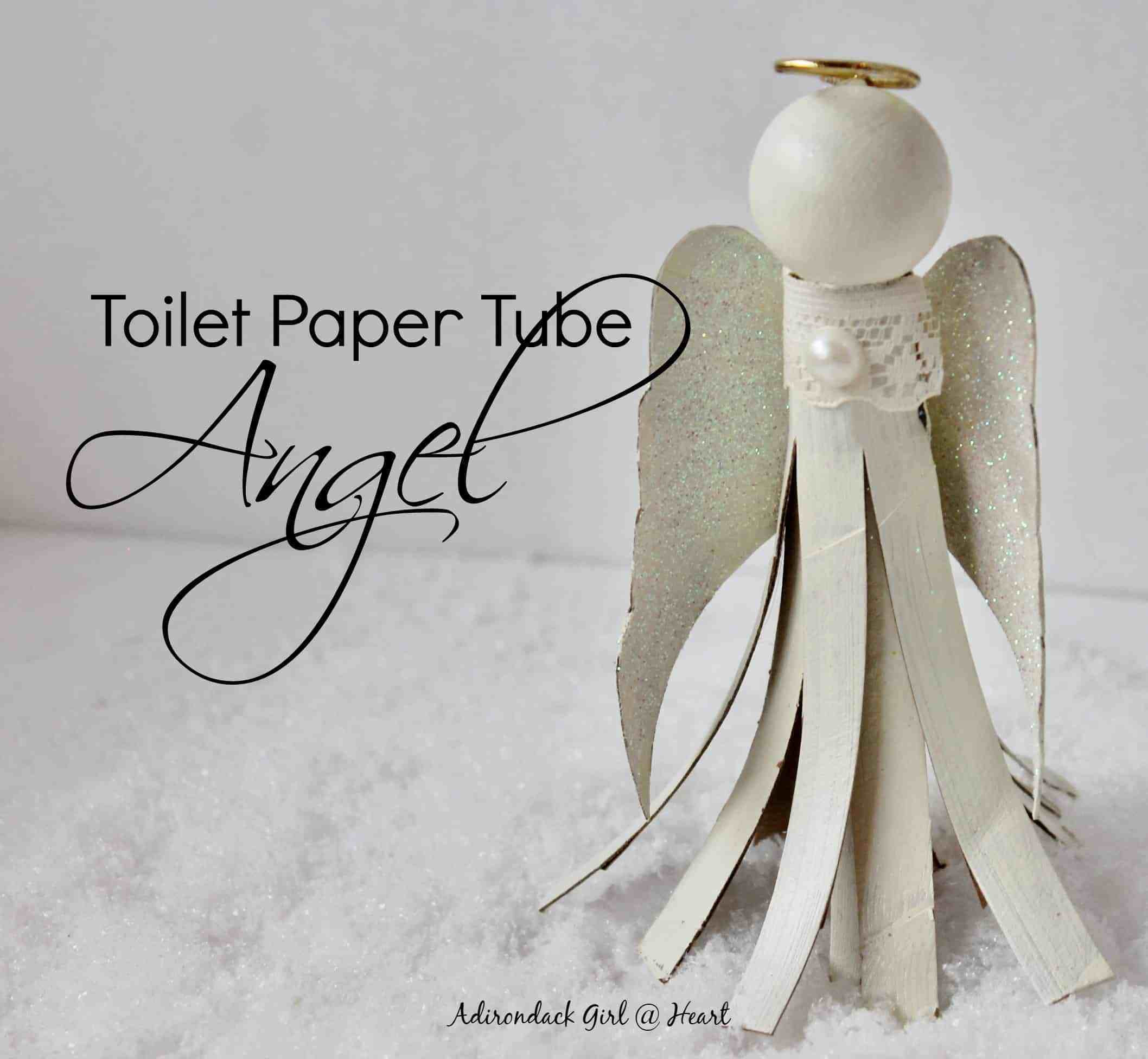 Toilet Paper Tube Christmas Crafts  9 Last Minute Simple & Thrifty Christmas Ornaments