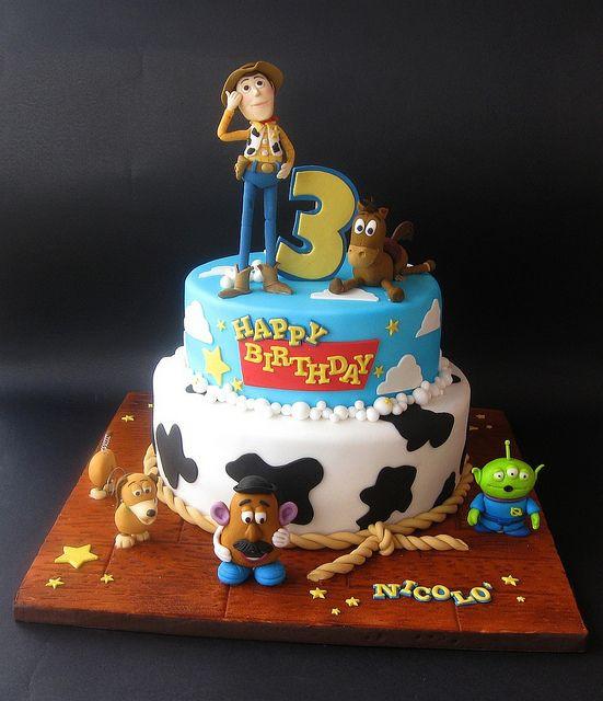 Toy Story Birthday Cakes Ideas  Toy Story cake in 2019 Toy Story Party