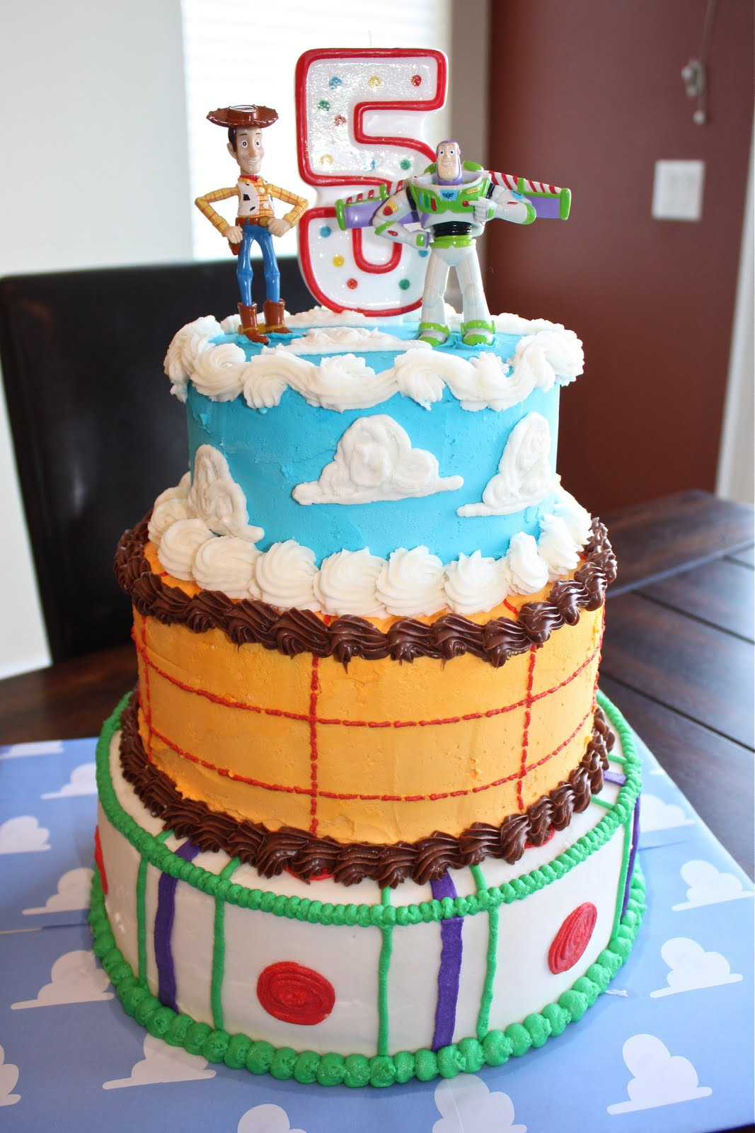 Toy Story Birthday Cakes Ideas  3 Little Things Toy Story Mania Cake