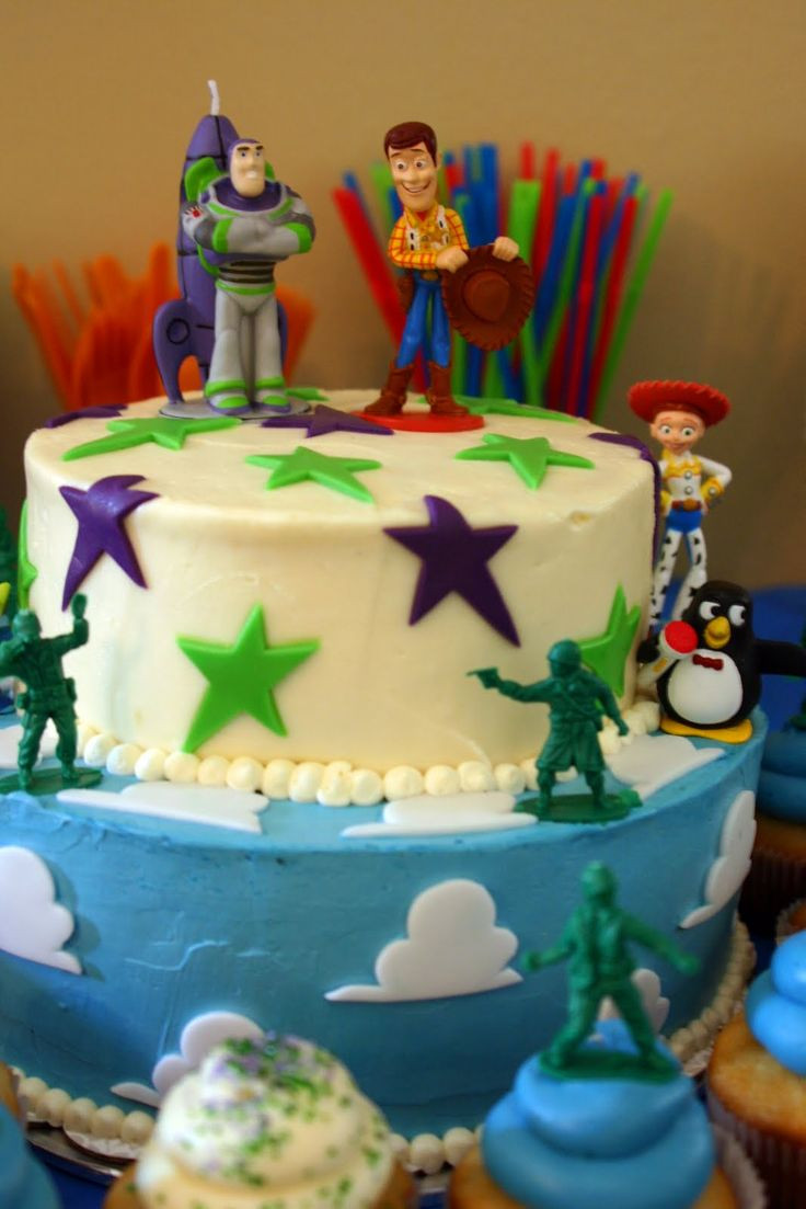 Toy Story Birthday Cakes Ideas  66 best images about Logan s Toy Story Birthday on