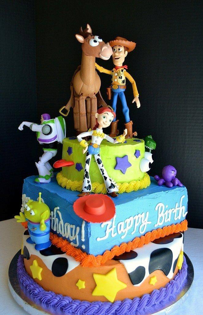 Toy Story Birthday Cakes Ideas  toy story cake idea Brady s Birthday