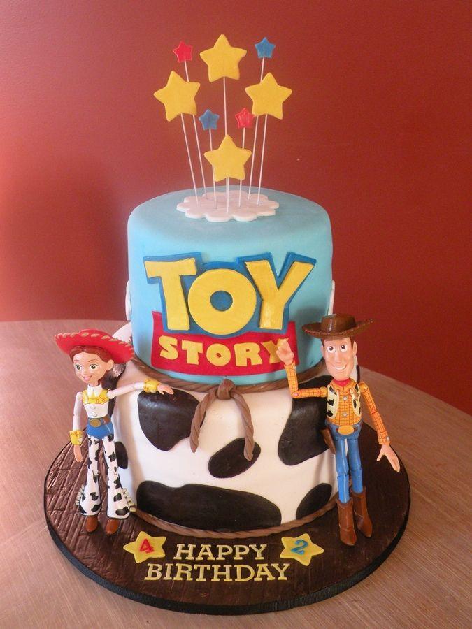 Toy Story Birthday Cakes Ideas  jessie & woody birthday cakes