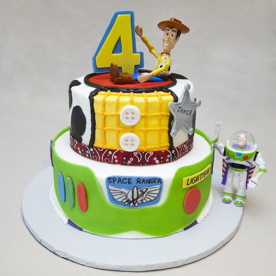 Toy Story Birthday Cakes Ideas  Birthday cakes Toys and Toy story on Pinterest