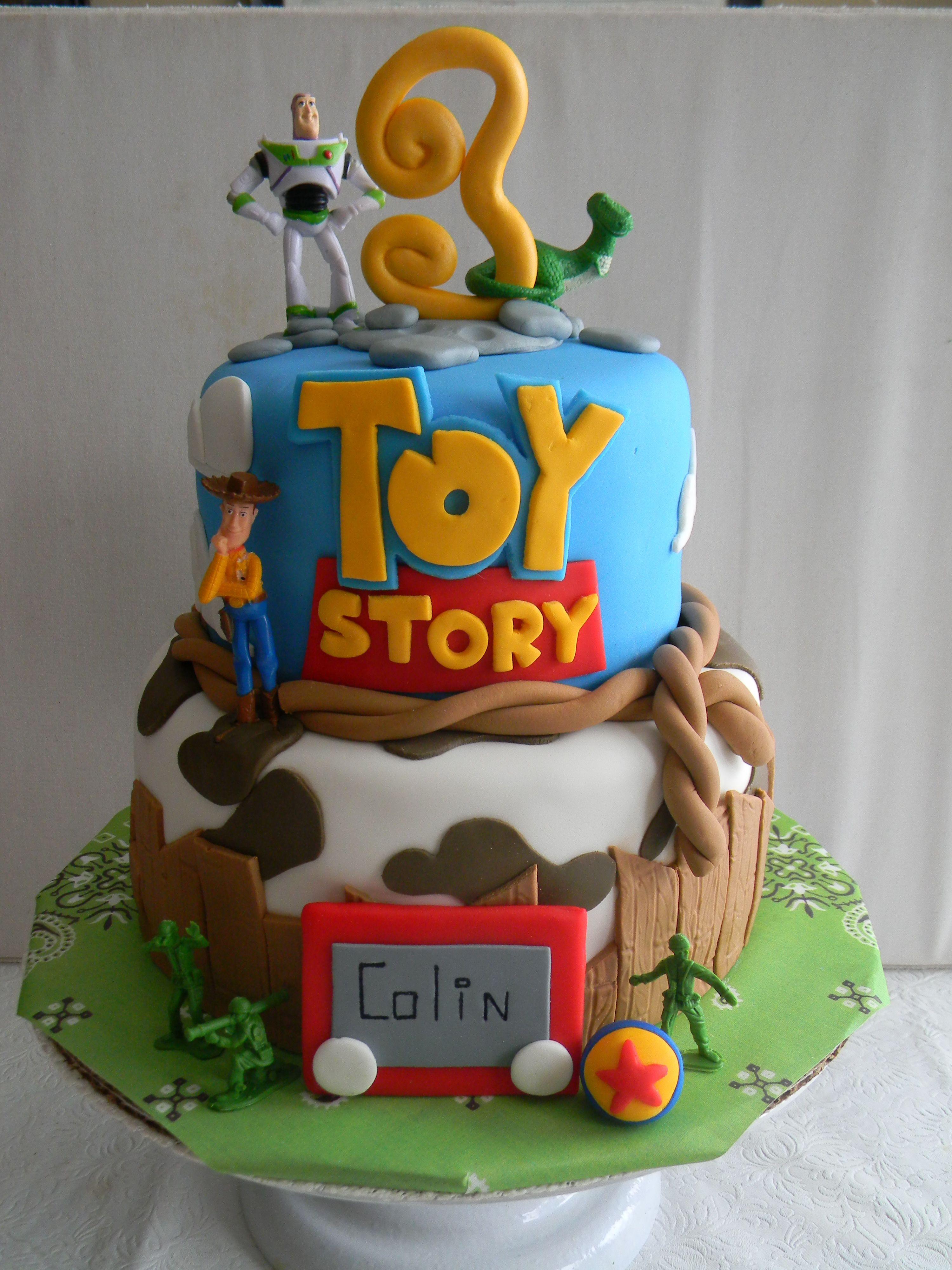 Toy Story Birthday Cakes Ideas  Toy Story themed birthday cake