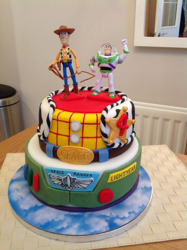 Toy Story Birthday Cakes Ideas  145 best fiesta images on Pinterest