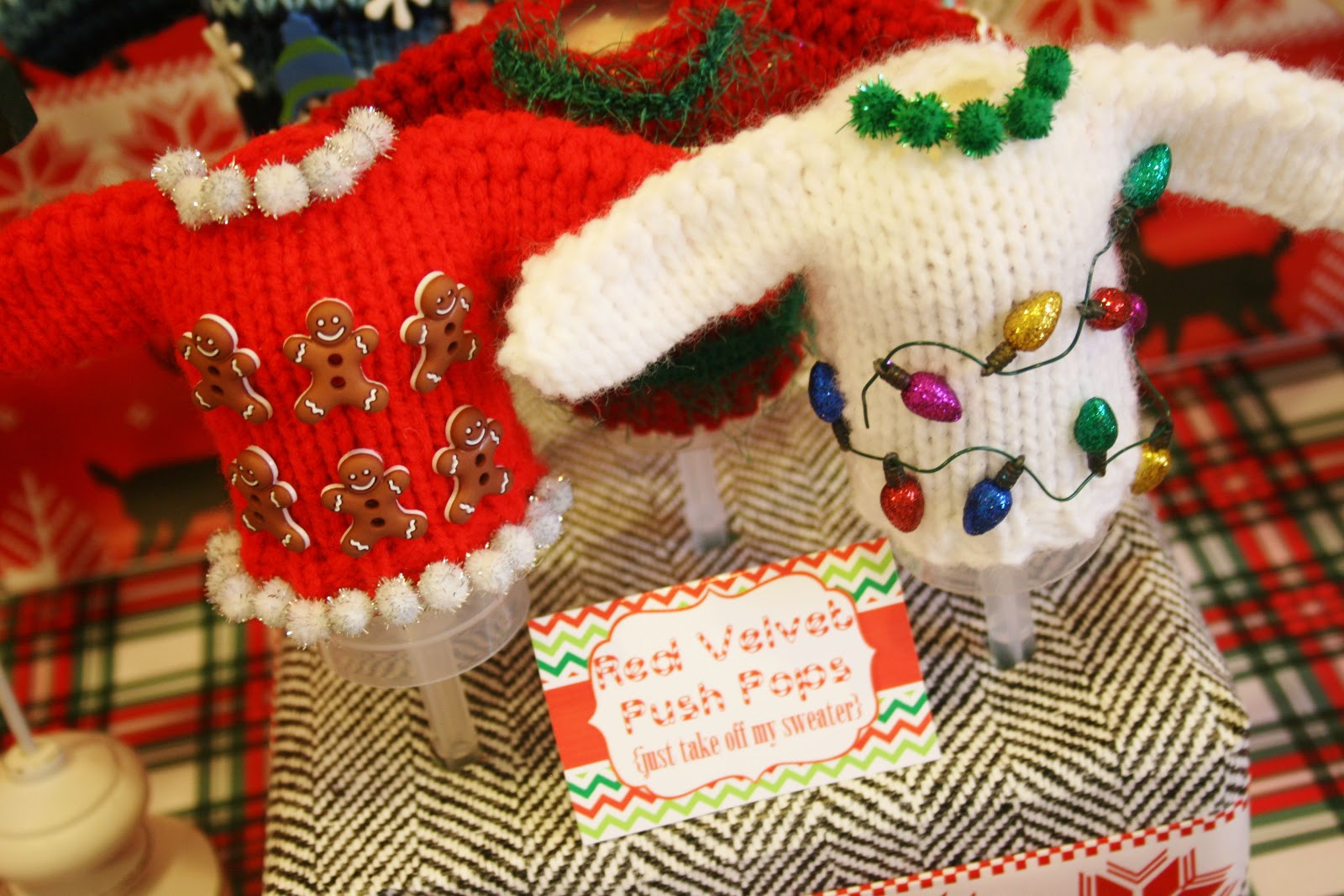Ugly Christmas Sweater Party Ideas  And Everything Sweet Ugly Sweater Party