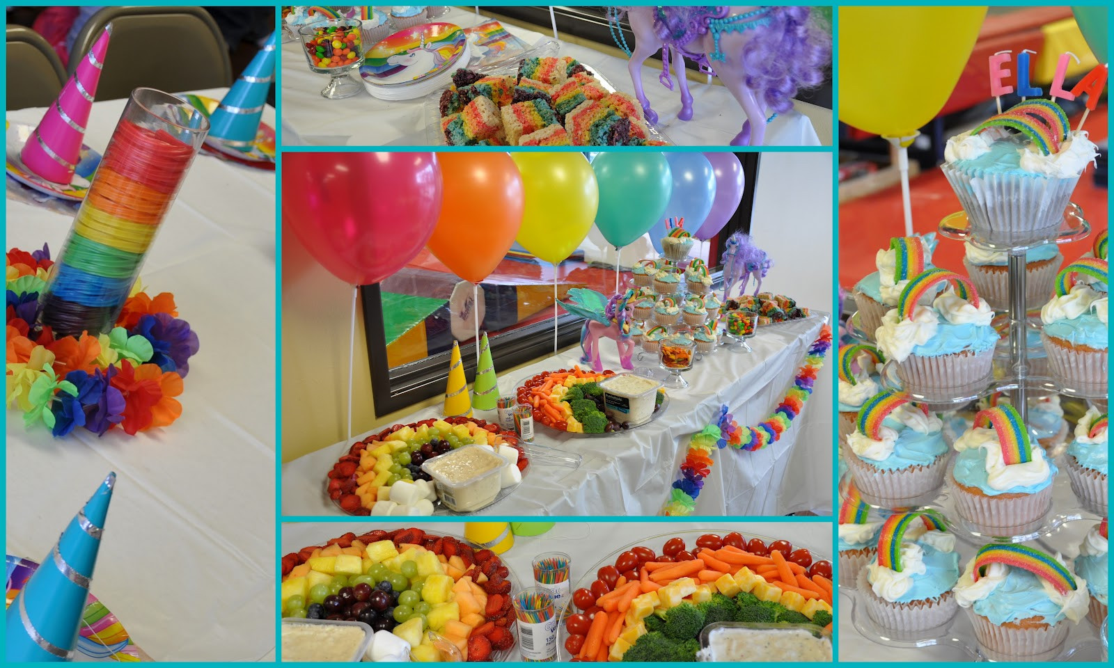 Unicorn And Rainbow Birthday Party Ideas  Clearly Candace Ninjas Unicorns and Rainbows Oh My