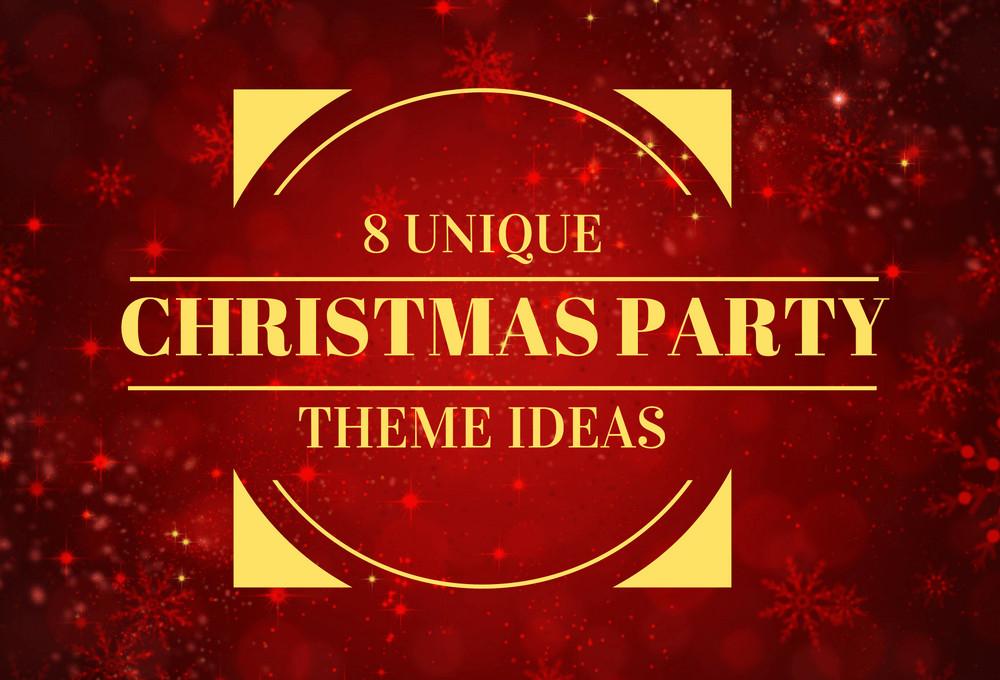 Unique Christmas Party Ideas  8 Unique Christmas Party Theme Ideas
