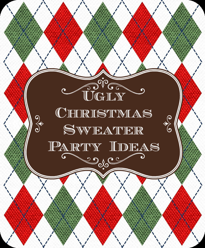 Unique Christmas Party Ideas  Ugly Christmas Sweater Party Ideas Unique Christmas