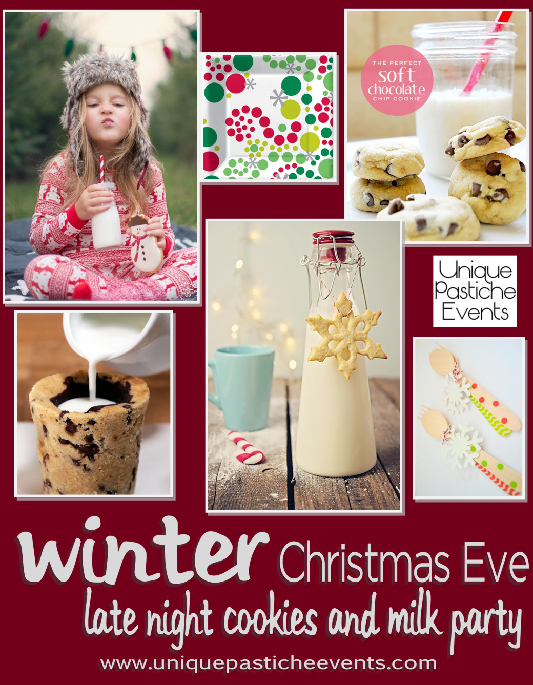 Unique Christmas Party Ideas  Dinner Luncheon and Party Food Inspiration