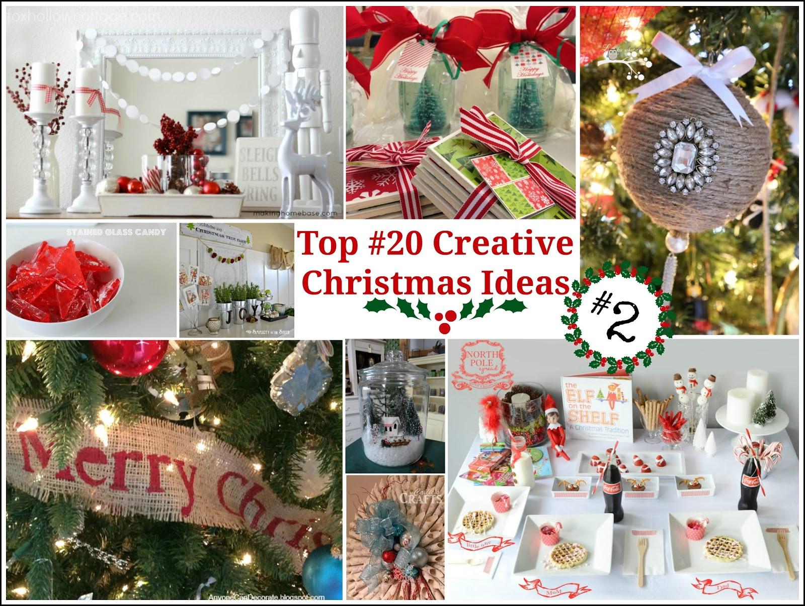 Unique Christmas Party Ideas  Top 20 Creative Christmas Ideas II Fox Hollow Cottage