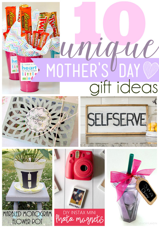 Unique Mother'S Day Gift Ideas  Ginger Snap Crafts 10 Unique Mother's Day Gift Ideas