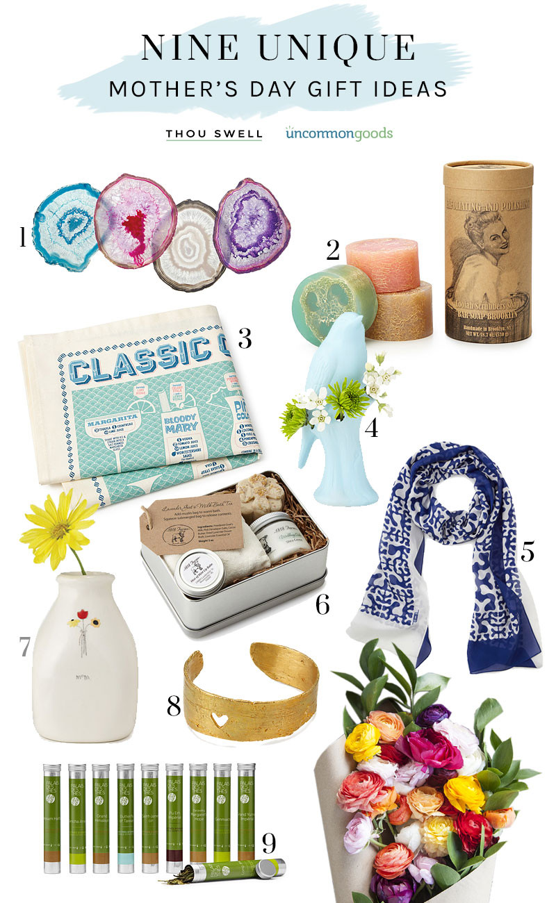 Unique Mother'S Day Gift Ideas  9 Unique Mother s Day Gift Ideas Thou Swell