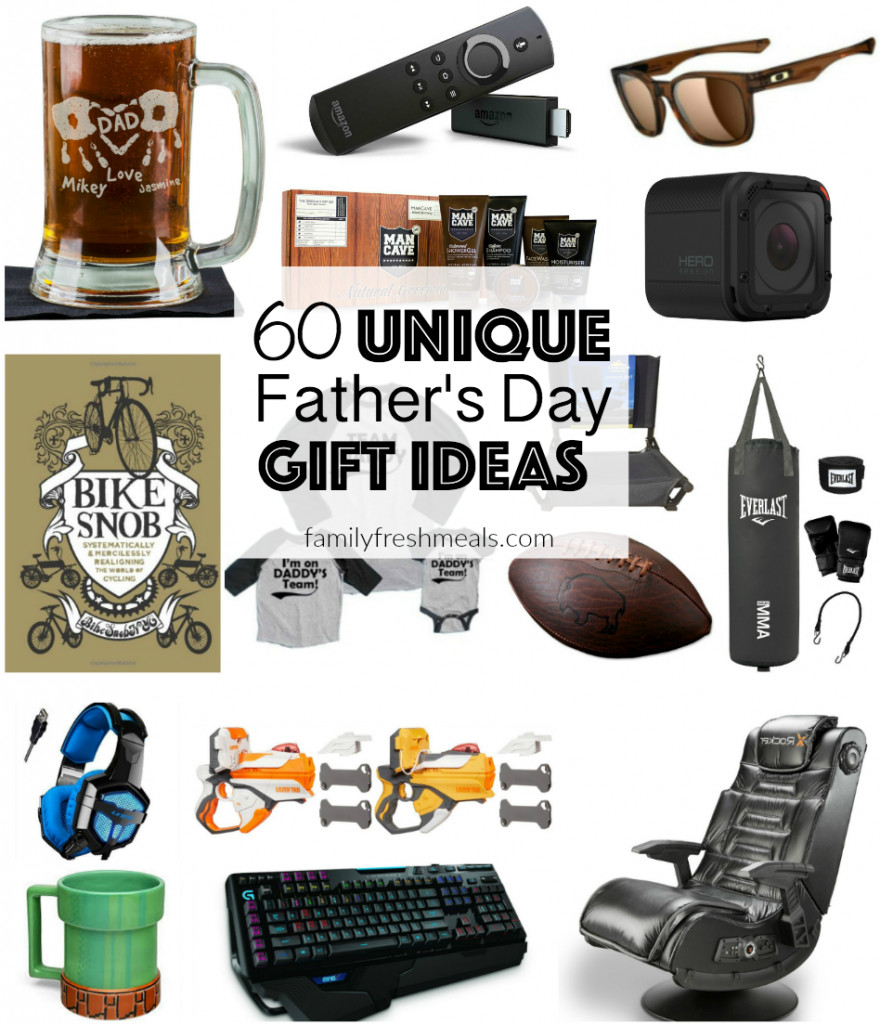 Unique Mother'S Day Gift Ideas  60 Unique Father s Day Gift Ideas Family Fresh Meals