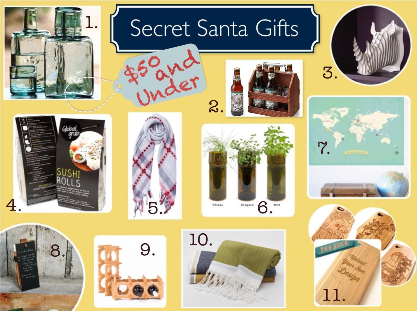 Unisex Holiday Gift Ideas  Ethical Secret Santa Gifts Under $50 Made To Travel