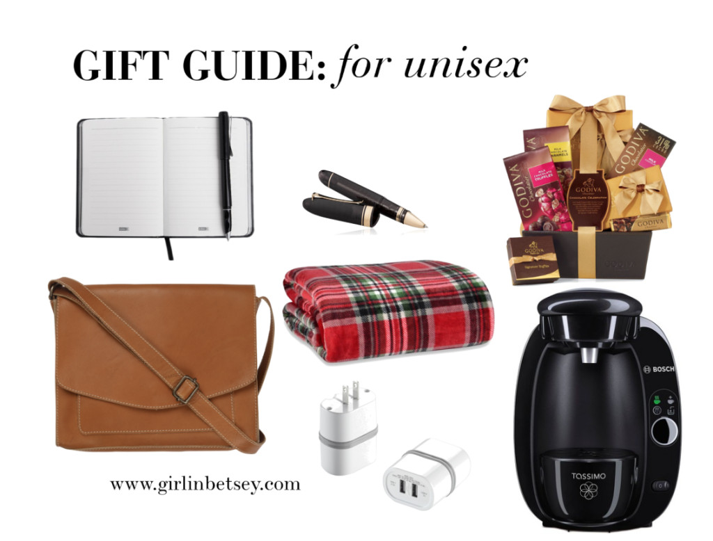 Unisex Holiday Gift Ideas  Gift Guide Uni KRYSTIN TYSIRE