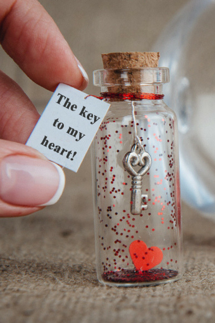 Valentine'S Day Gift Ideas For Girlfriend  Anniversary t for girlfriend The key to my heart I